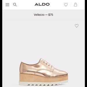 ALDO Oxford, Wedge Shoe
